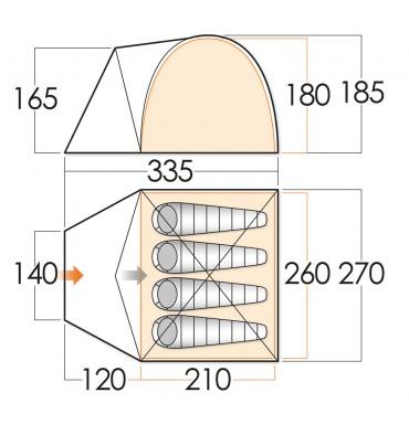 Vango Berkeley 400 2015 Tent Buyer Compare Tent Prices