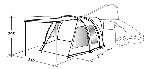 Easy Camp Silverstone Compare Awning Prices Tent Buyer
